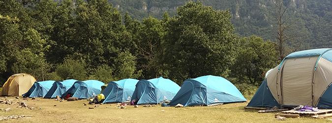 El pas de les colònies als campaments: un repte pedagògic
