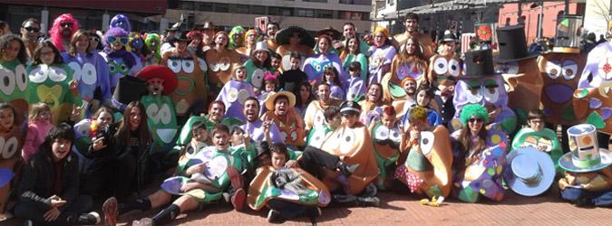 La Rua de Carnestoltes: una activitat per a infants, famílies, monitors i monitores