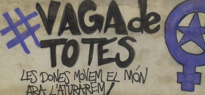 Les treballadores d'Esplac ens sumem a la vaga de dones del 8 de Març