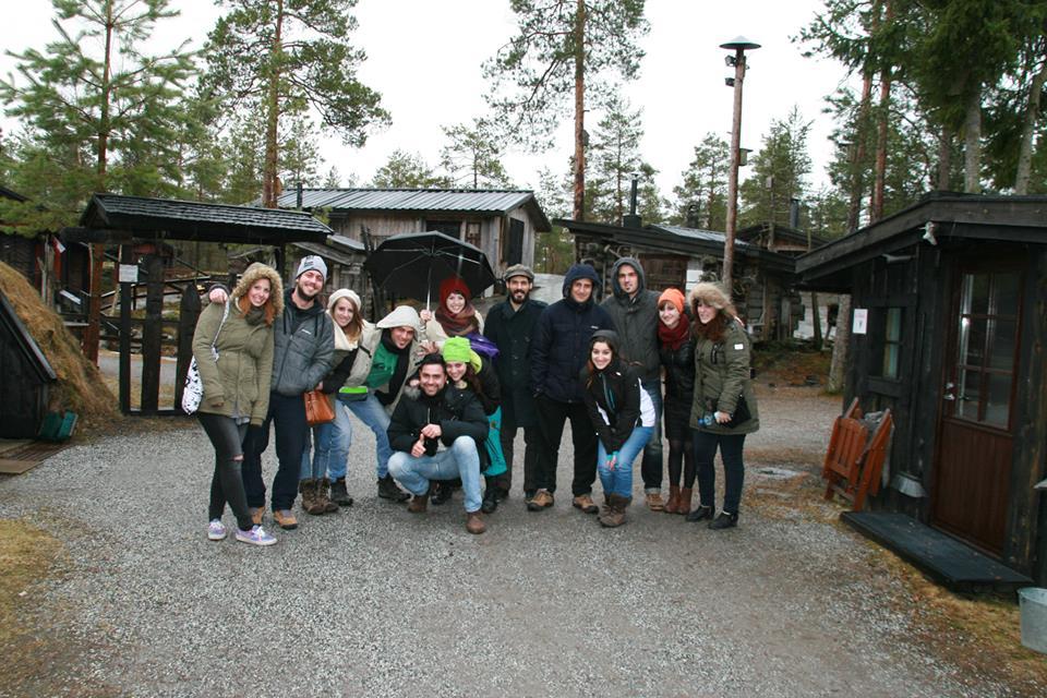 Formació d'arribada a Finlàndia