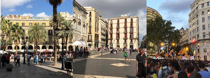 Primers passos a Barcelona